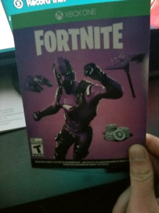 Fortnite new skin,1 mo xbox gold and game pass codes