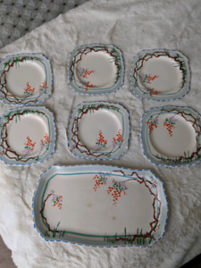 English china tea plates