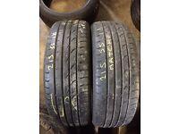 215/55/18 part worn tyres Coleraine