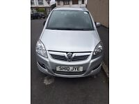 PCO car for sale - Silver Vauxhall - 8 seater