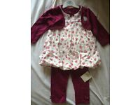 Lovely outfit for girl 6-9 months