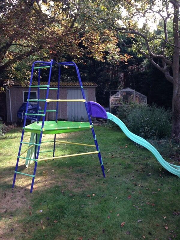 ELC metal kids climbing frame - taken pending collection | in ...