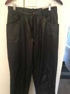 Ladies Leather Motorcycle Pants