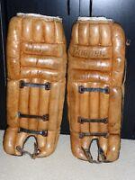 Vintage jambieres de gardien but cooper hockey