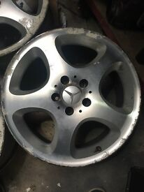 Mercedes AMG alloys wheels 17inch in need of refurb. Offers/Swaps for 17s any fitment