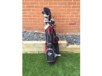 Dunlop Clubs and Bag