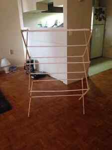 DRYING RACK! Super easy to store!