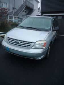 2007 Ford Freestar wheelchair accessible van