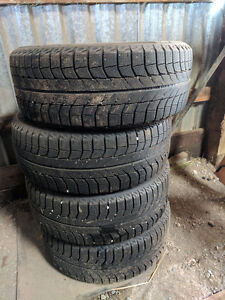 Winter tires, Michelin X-ice with Rims Kitchener / Waterloo Kitchener Area image 3