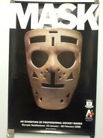 Terry Sawchuk Detroit Red Wings hockey mask poster