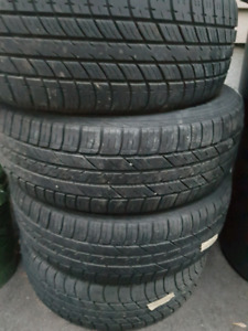 Tires forsale 185/60r/14in 80%tread 200$ o.b.o