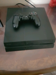 Ps4 slim 500gb with controller and cords $200