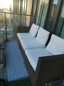 3-seat modular outdoor sofa - $375 or best offer