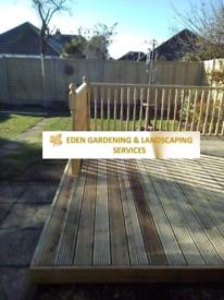 Gardening landscaping paving concreting decking shed bases driveways