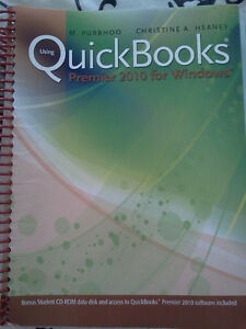 Using QuickBooks Premier 2010 for Windows [Spiral-bound] With CD