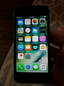 iPhone 5s grey UNLOCKED great shape