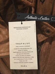 Zara leather jacket - Brand New with tags (veste cuir) West Island Greater Montréal image 5