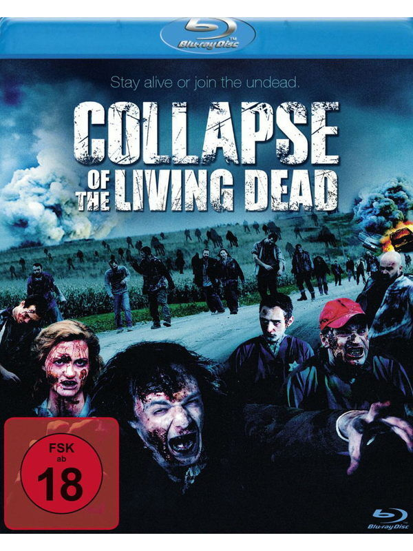 Collapse of the Living Dead- Uncut Blu-ray