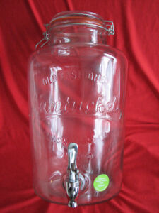 Glass Bottle - Two Gallon with tap