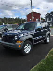 2006 Chrysler Jeep Liberty trail
