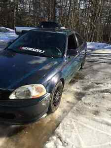 1998 Honda Civic Si Coupe b18b1