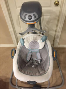 Baby Swing and Bouncer Combo
