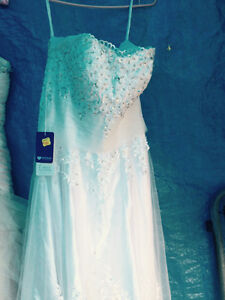 Brand new, tags still on, beautiful strapless wedding gown