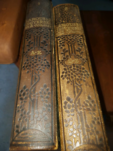 ANTIQUE.  LAROUSSE 1922 en 2 volumes.