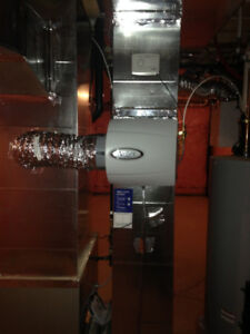 Central Whole Home Humidifier Installations and Service
