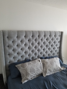 Moving Sale: Custom ELTE King Bed + IKEA Day Bed