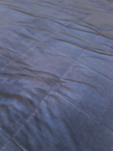 Double sided double size bed sheet