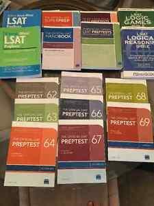 LSAT Prep Books $175 o.b.o