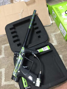 Paintball gear Gtek/KP3 with accessories