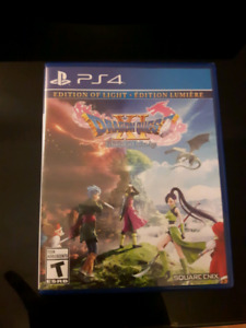 Dragon Quest 11 & Final Fantasy 15 PS4
