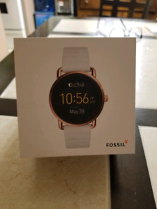 Fossil gen one Q rose gold watch