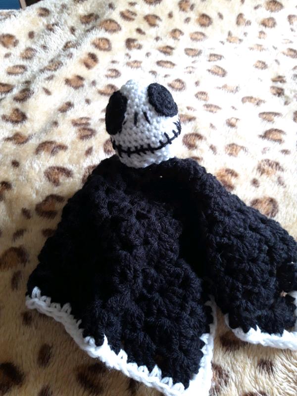 Nightmare Before Christmas Crochet Blanket.Jack Skellington Nightmare Before Christmas Crochet Cuddle Blanket In Wrexham Gumtree