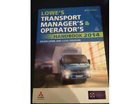 Transport managers and operators handbook 2014