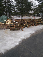 Firewood for sale at hwy 37 convenience