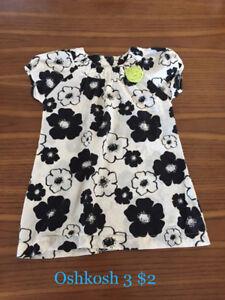 Toddler girl summer clothing 3T/2T