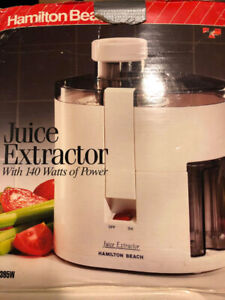 Brand New Hamilton Juicer - Never Used $15.00