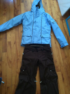 Bonfire ladies ski/snowboard jacket and pants – Almost new!
