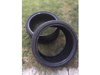 Good Year Eagle F1 run flat tyres X 2