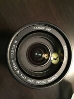 Canon EFS 18-135mm IS Kit Lens For Sale