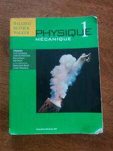 Physique 1 Mécanique