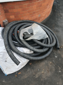 80mm perforated land drain