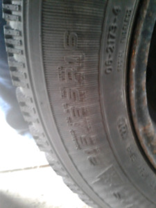 Good set of winter tires on rims 215/65/16