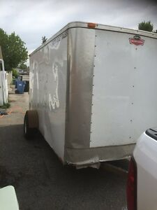 6x12 foot enclosed utility trailer