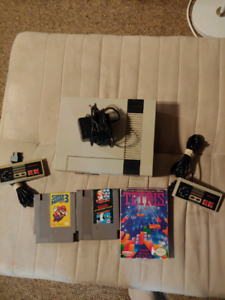 Nintendo system with games