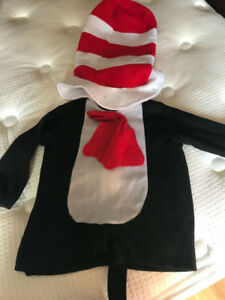 Cat in the Hat costume ( Hat and Top) Toddler