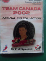 2002-TEAM CANADA-OLYMPICS-OFFICIAL PINS-VARIOUS PLAYERS.
